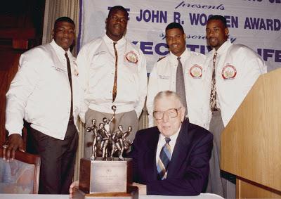 Larry Johnson y Shaq