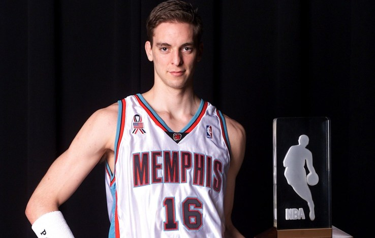 Rookie del año de la NBA