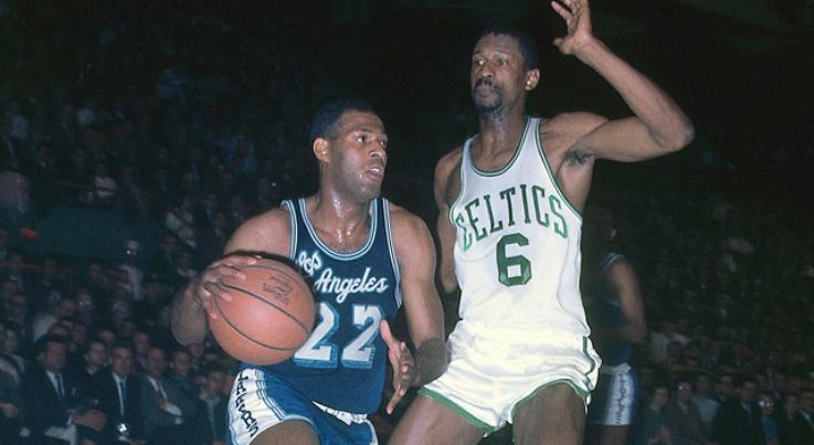 La mala suerte de Elgin Baylor en las finales NBA