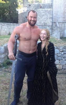 La Montaña y Cersei
