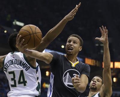 Curry defensa bucks