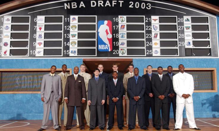 El Draft de 2003 uno de los más internacionales de la historia de la NBA
