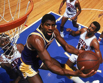 Magic Johnson 76ers 1980