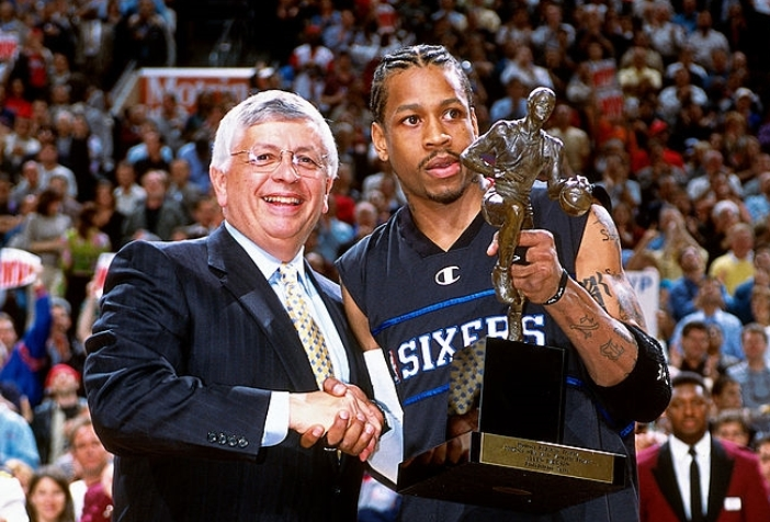Iverson MVP más bajo
