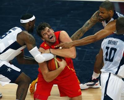 España vs team USA