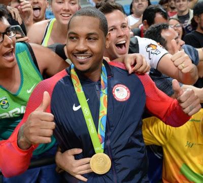 Carmelo Anthony el nuevo Dios del Baloncesto Olímpico