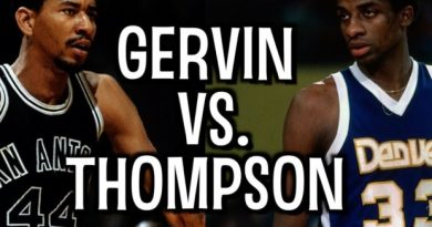George Gervin y David Thompson 10