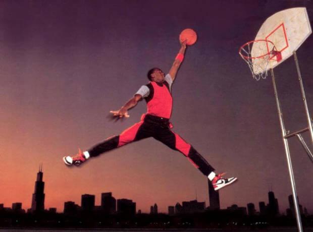 El verdadero origen del Jumpman de Michael Jordan ~ el gurú del basket 27f12307135ee
