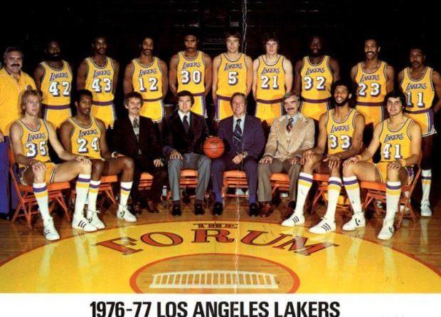 Lakers 1976-1977 peor mejor equipo historia nba